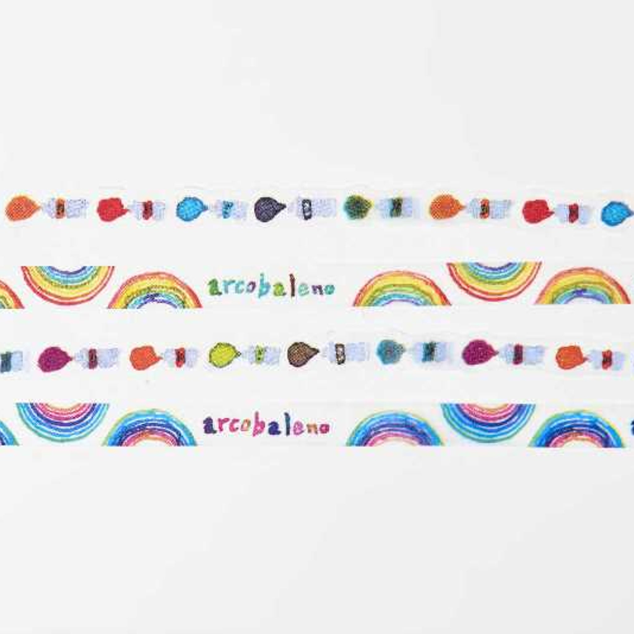 Round Top x Space Craft Washi Tape Set of 4 - Colors