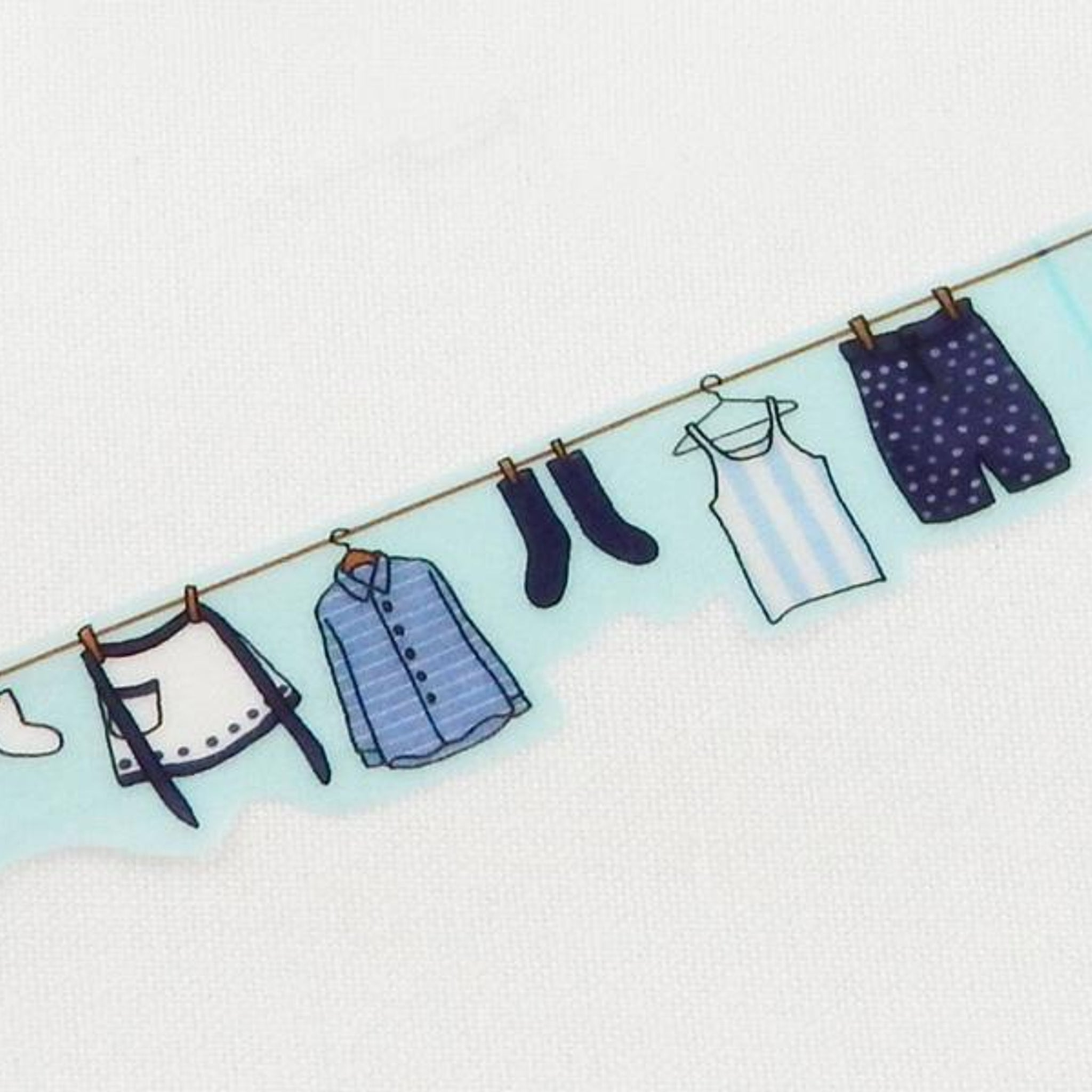 Round Top x Yano Design laundry washi tape