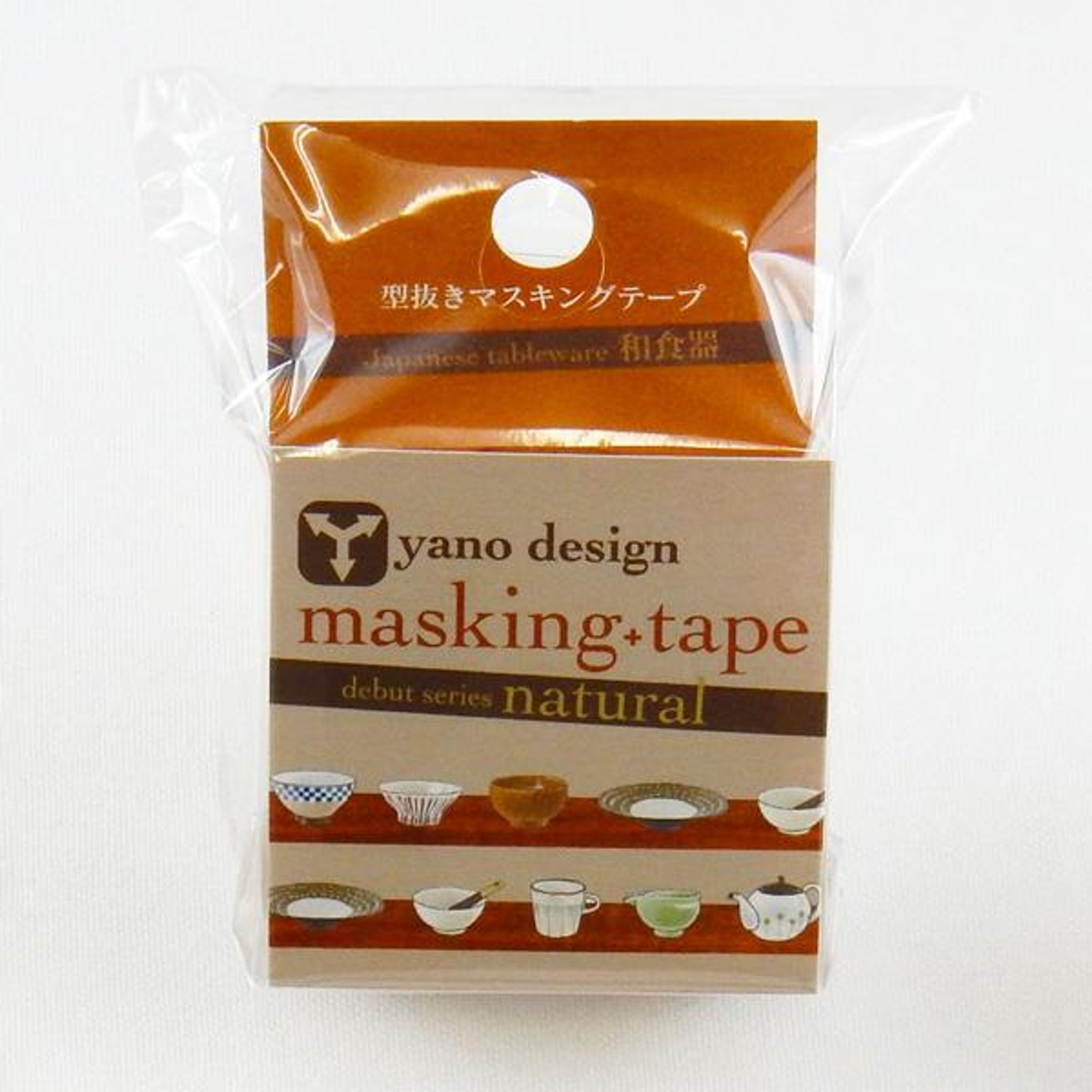 Round Top x Yano Design Japanese dish washi tape