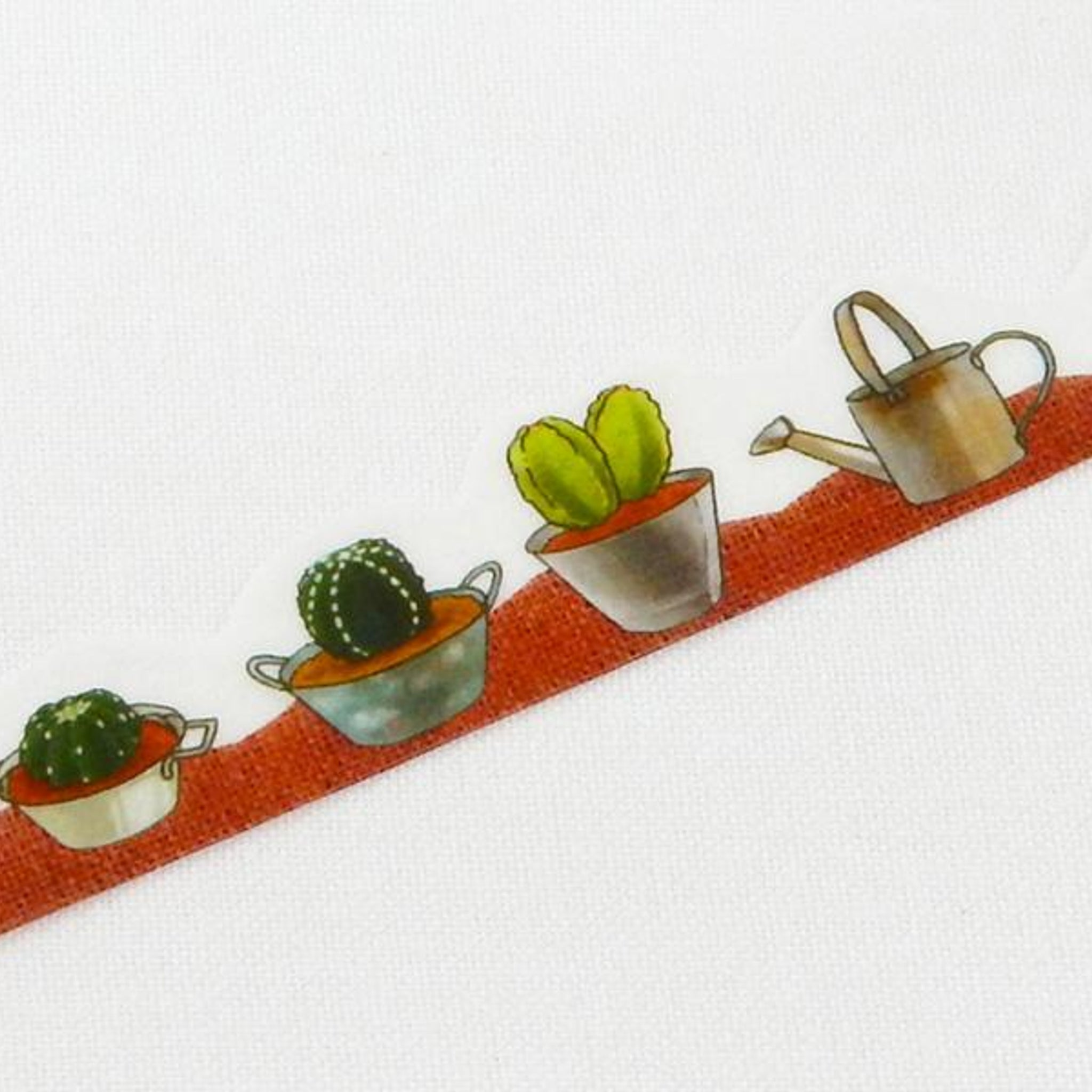 Round Top x Yano Design cactus washi tape
