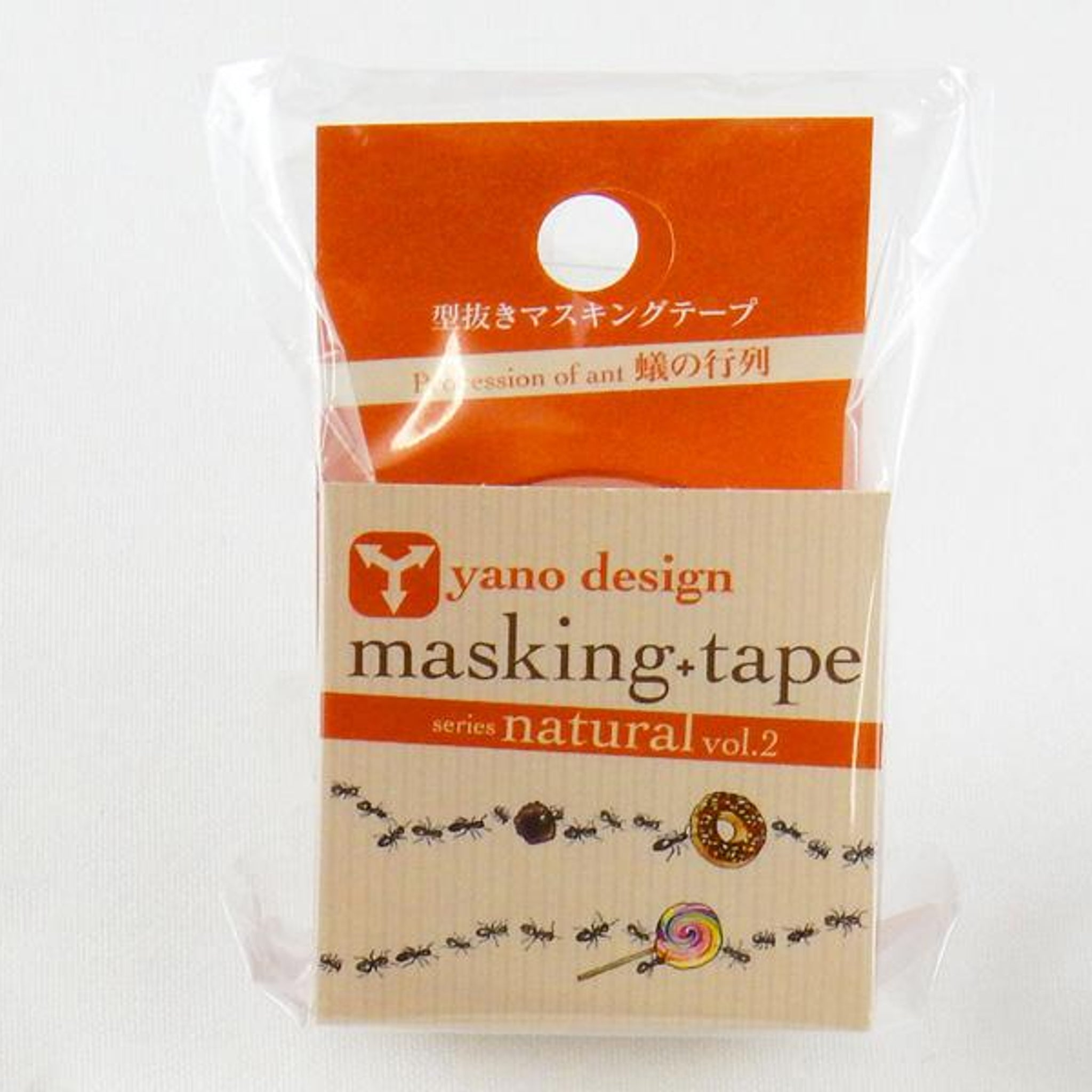 Round Top x Yano Design ants washi tape