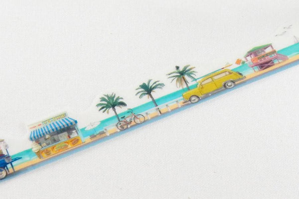 Round Top x Yano Design tropical beach washi tape (YD-MK-064) | Washi Wednesday