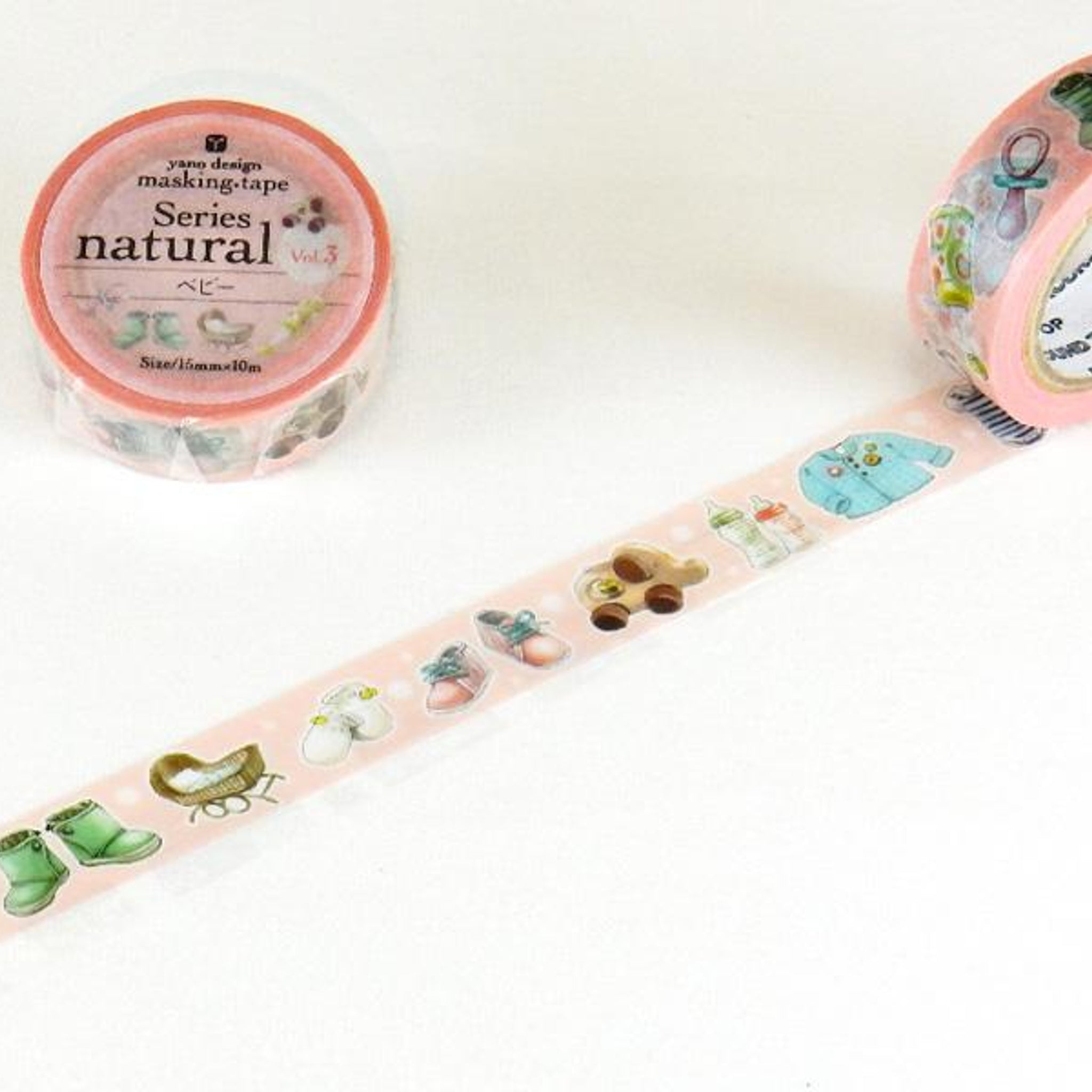 Round Top x Yano Design baby washi tape