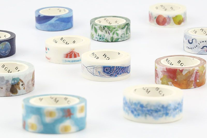 BGM Wing Washi Tape