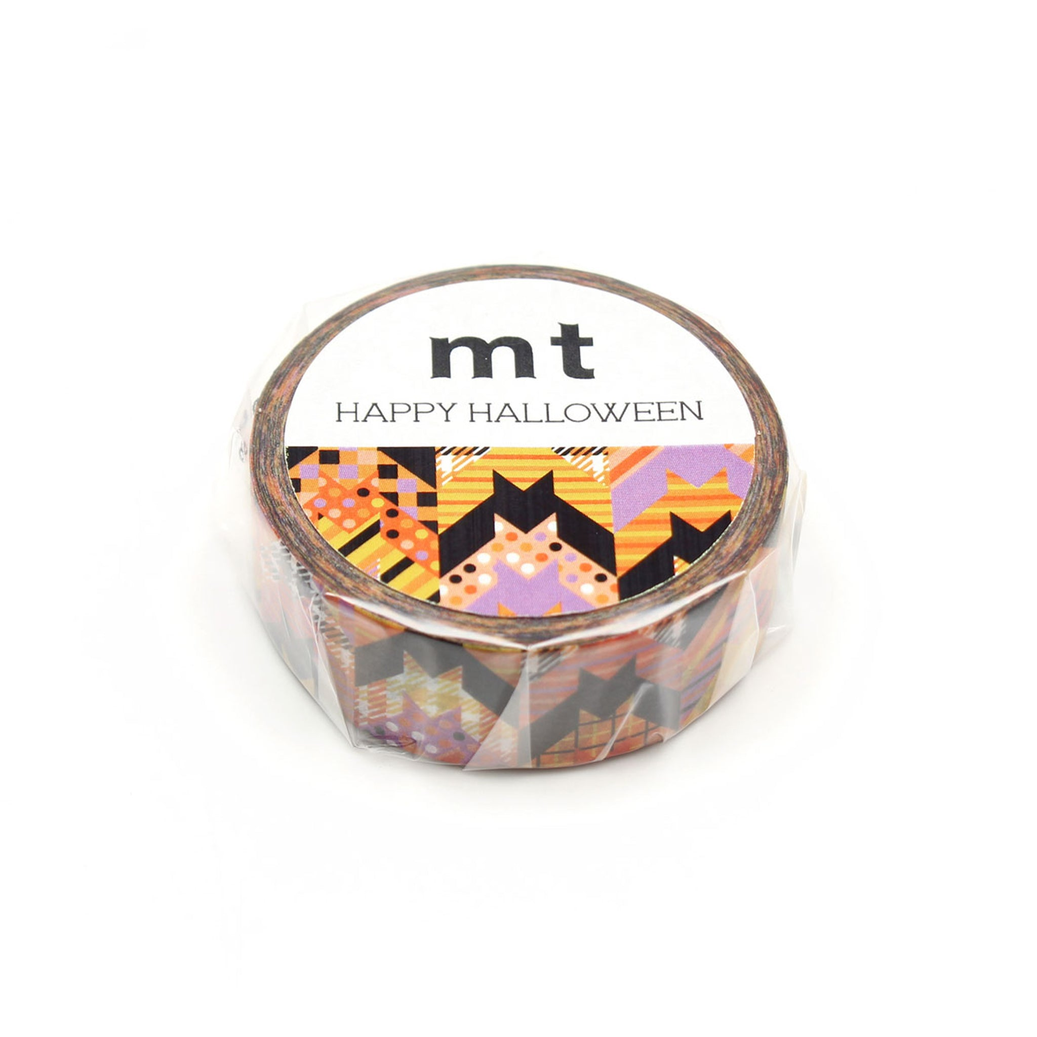 MT Halloween 2019 Washi Tape Bats Pattern