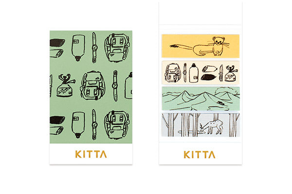 KITTA Washi Tape Outdoor