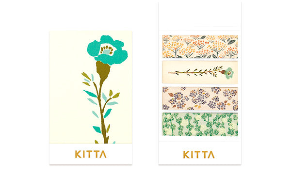 KITTA Washi Tape Flower 4