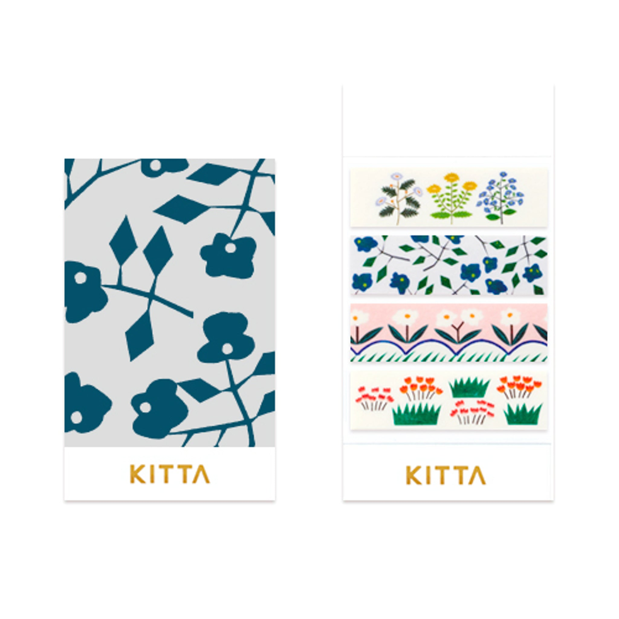 KITTA Washi Tape Flower 5
