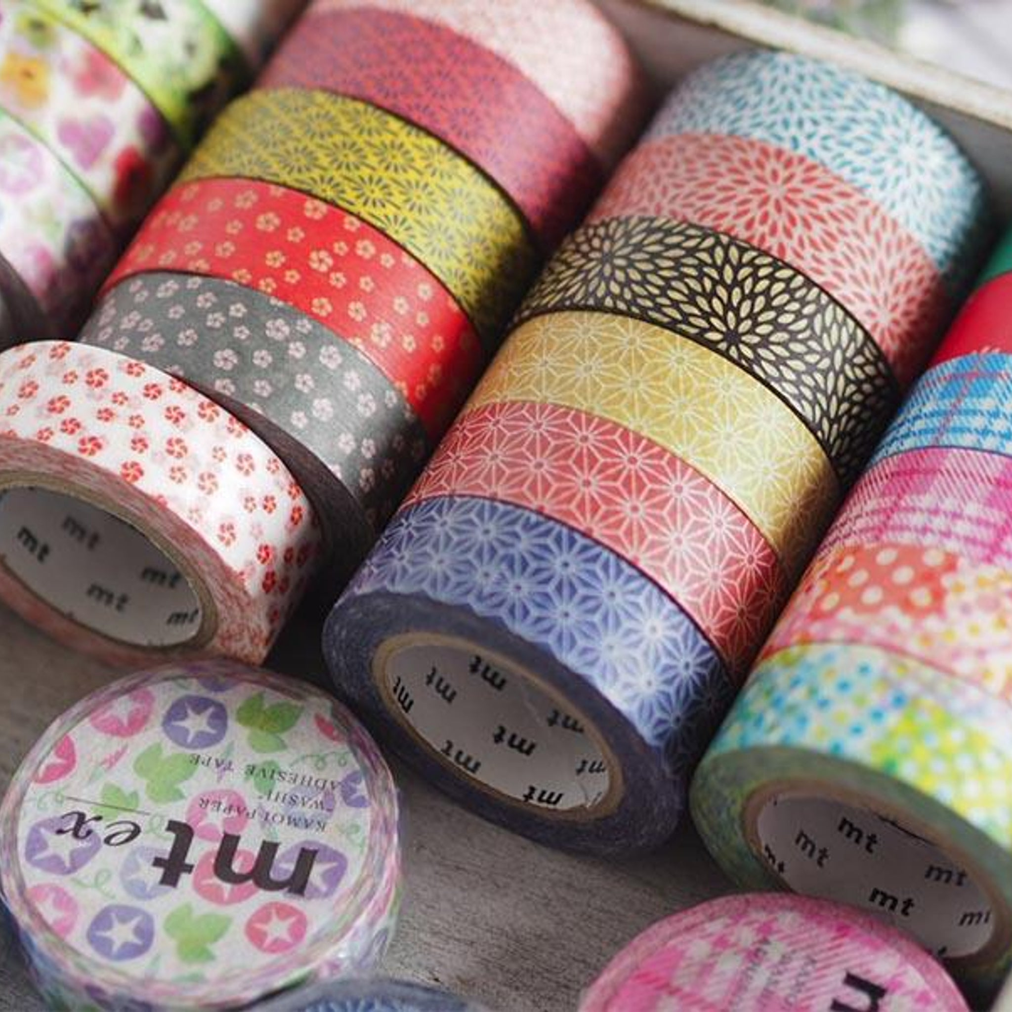 MT Deco Washi Tape Nejiriume Namari