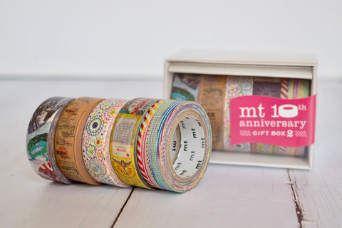 mt 10th Anniversary Gift Box washi tape set v2