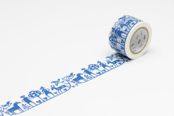 mt x BENGT & LOTTA adam & eve washi tape (MTBELO01) | Washi Wednesday