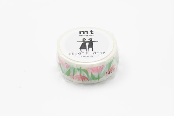 mt x BENGT & LOTTA tulip washi tape (MTBELO02) | Washi Wednesday