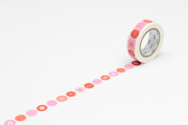 mt x BENGT & LOTTA candy washi tape (MTBELO03) | Washi Wednesday