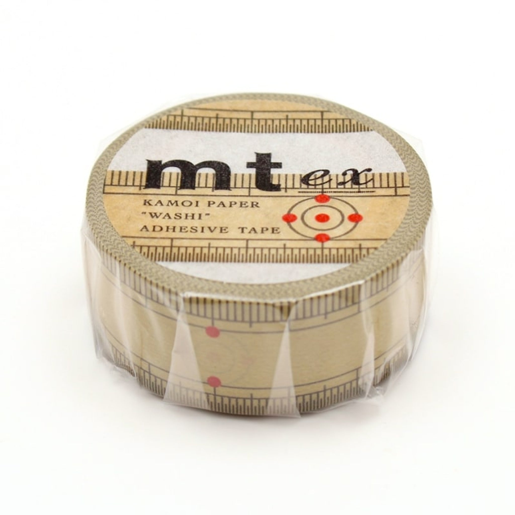 (DC) MT EX Washi Tape Bamboo Ruler