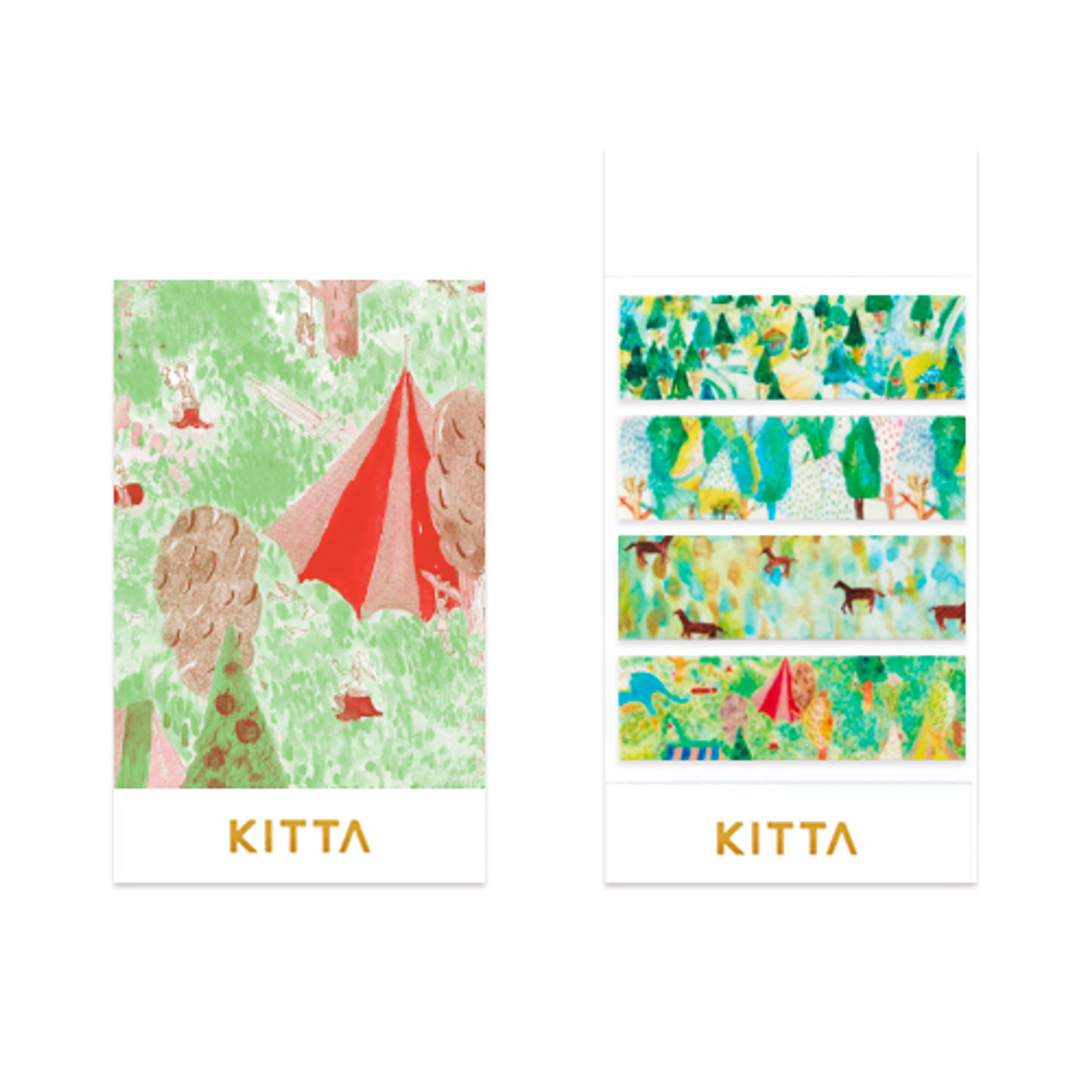KITTA Washi Tape Glassland