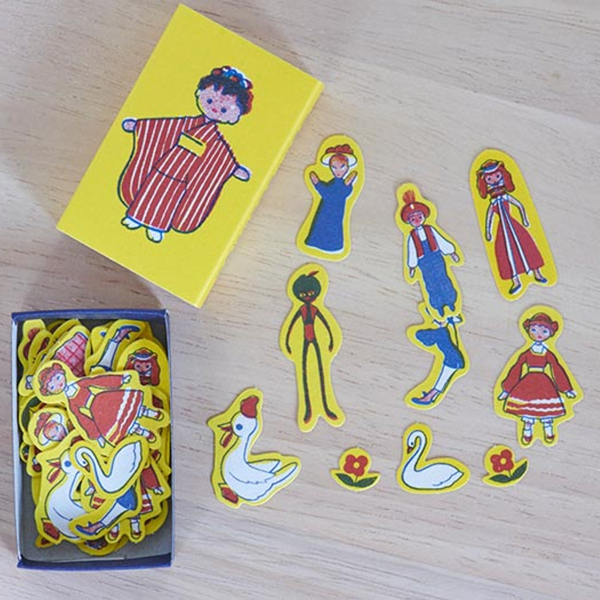 Classiky x Yonagado Pretty Girl Matchbox Small Sticker