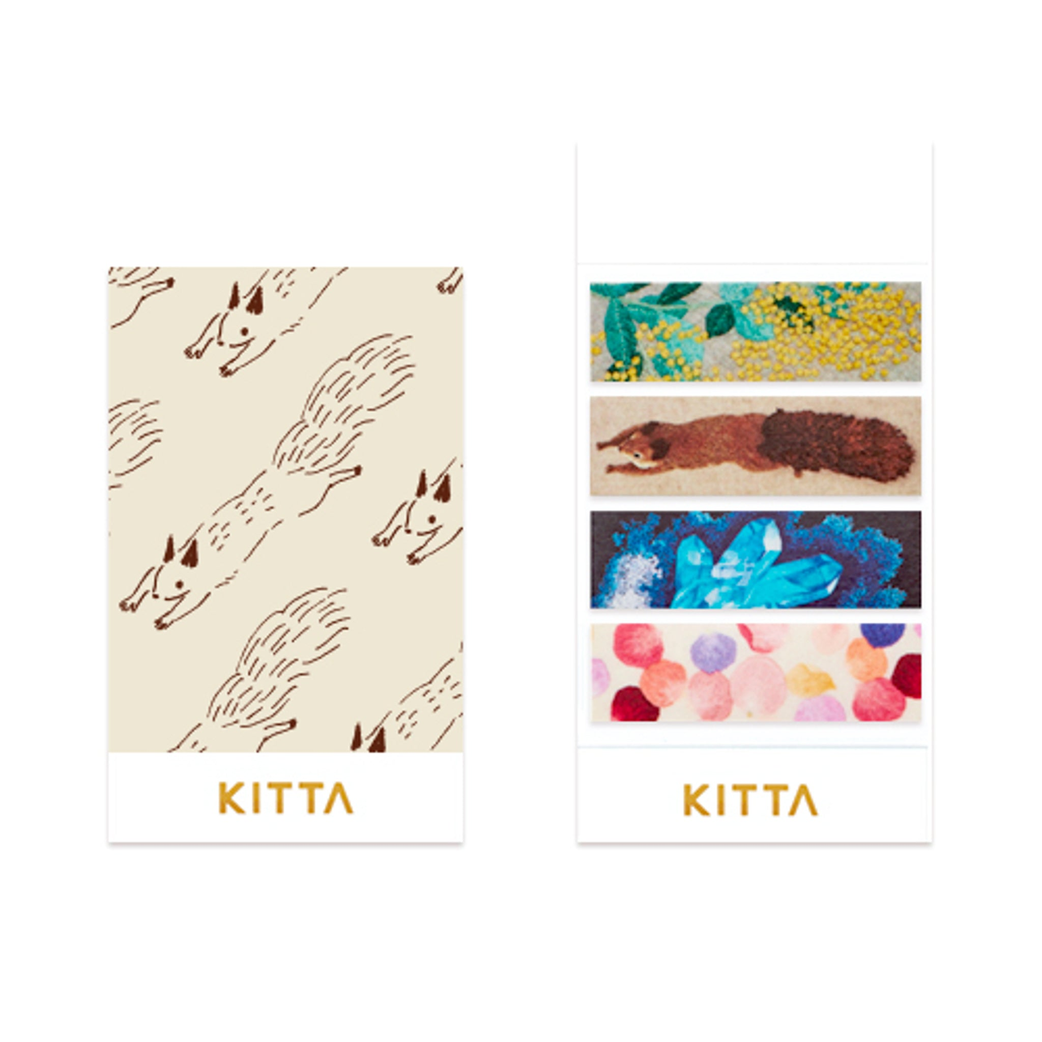 KITTA Washi Tape Embroidery