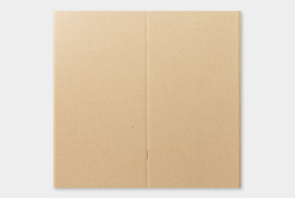 Traveler's Notebook Refill 014 (Regular Size) - Kraft Paper | Washi Wednesday