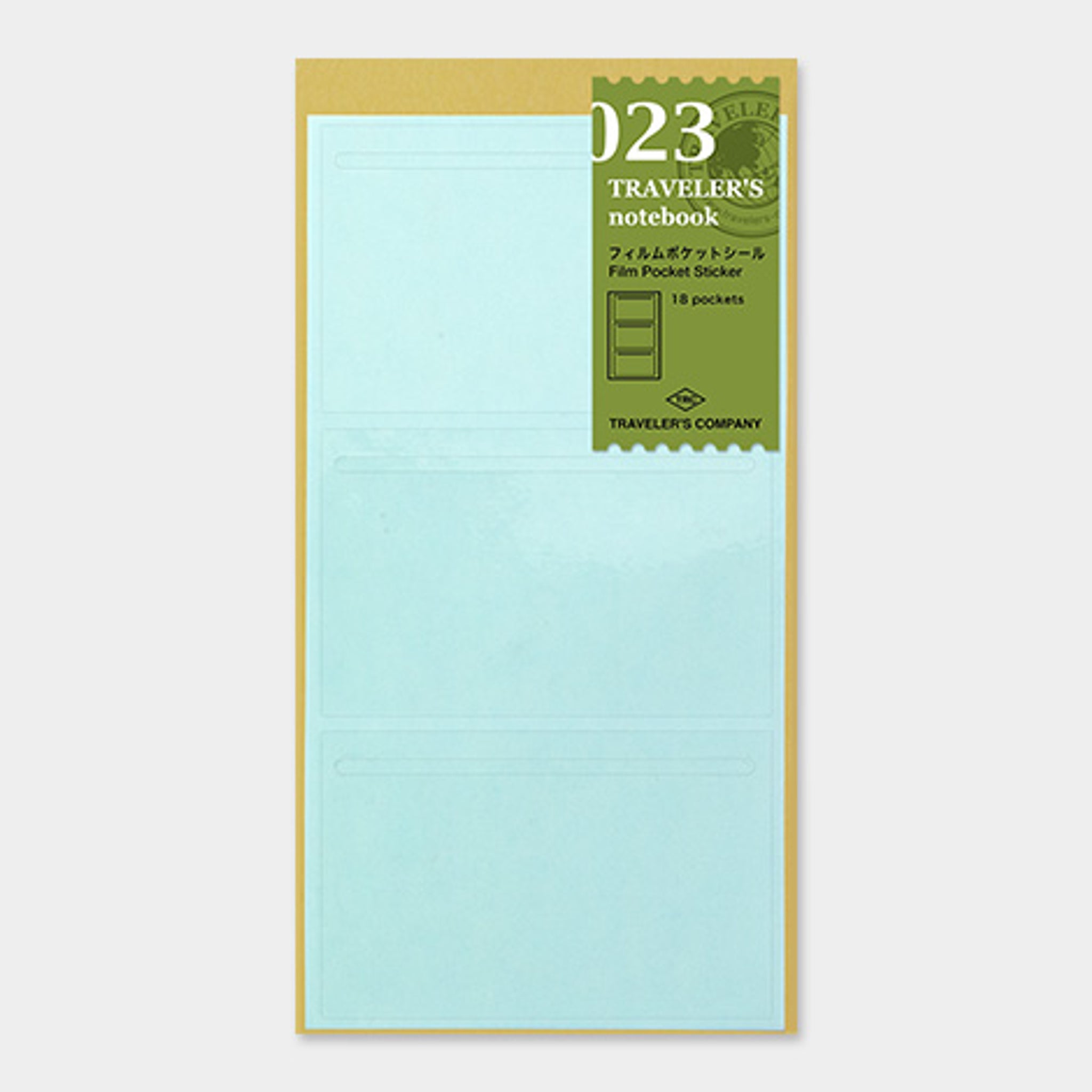 Traveler's Notebook Refill 023 (Regular Size) - Film Pocket Sticker