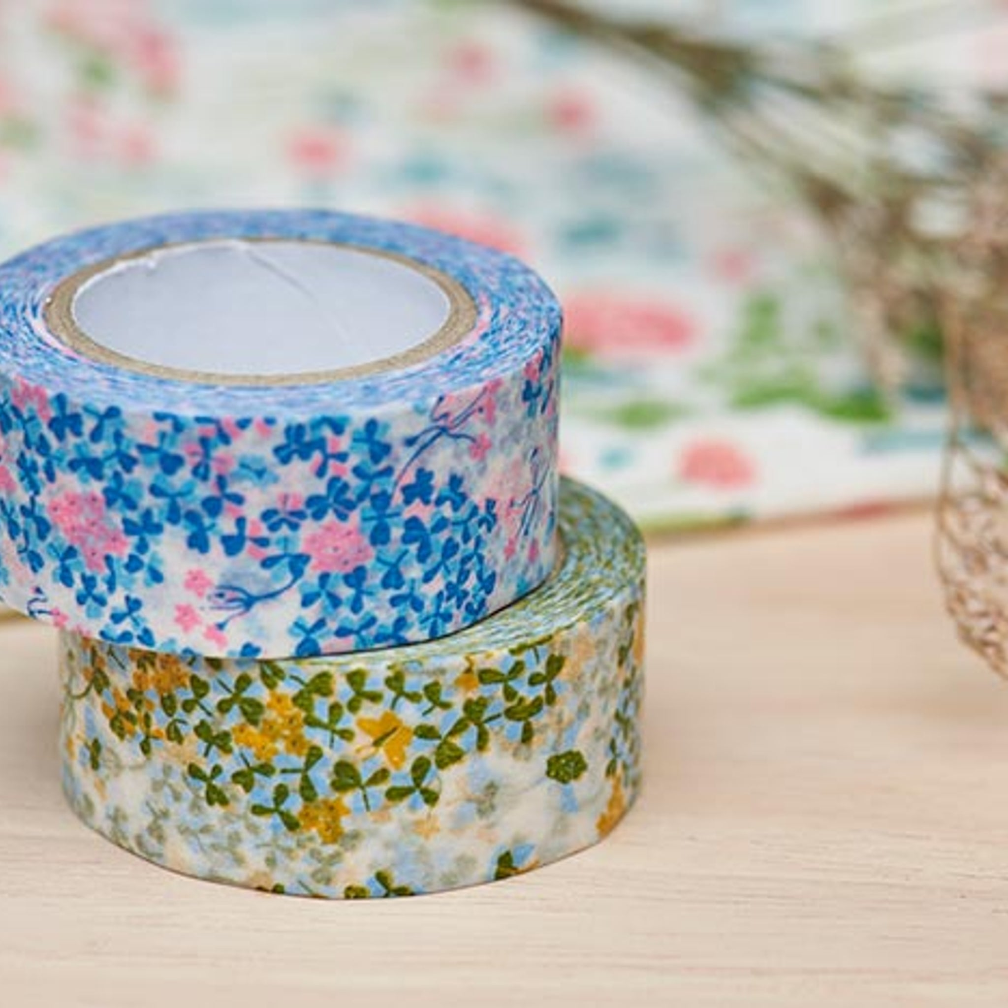 Classiky x Mihani Kobo Wood Sorrel Washi Tape Green