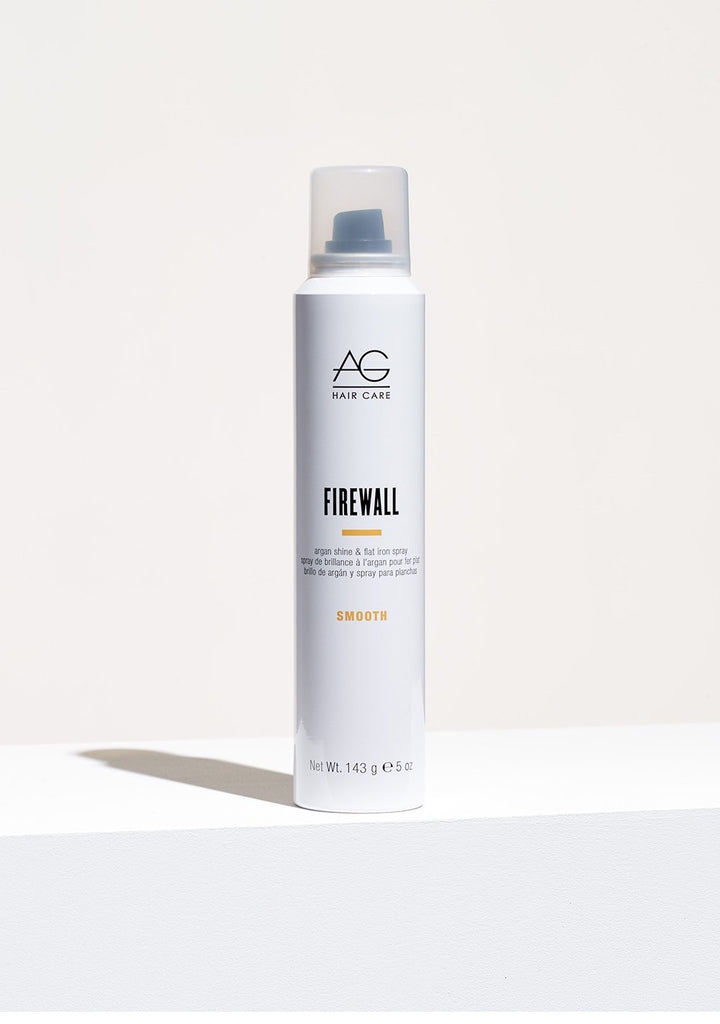 FIREWALL argan shine & flat iron spray