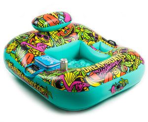The Heatwave - Inflatable Party Lounger