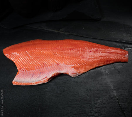 Chinook King Salmon  Fillet Skin-Off She Nah Nam Seafood