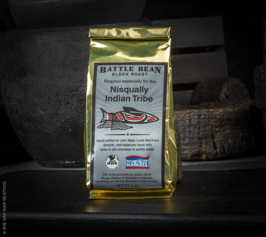 Nisqually Elders Dark Roast Coffee By She Nah Nam Seafood Market