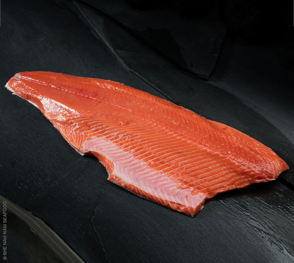 Chinook King Salmon Fillet Skin On She Nah Nam Seafood