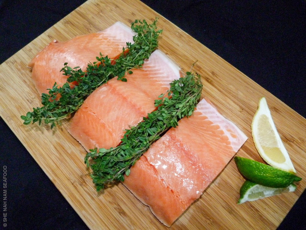 Frozen Chinook Salmon -