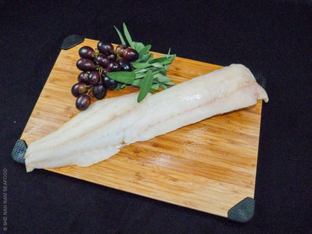 Native Alaska Pacific Cod - 32/up Oz. Boneless Skinless Iqf (Minimum 2 Lb. Order) Other Finfish