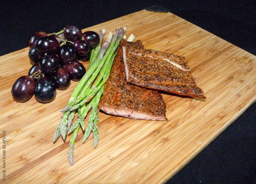 Peppered Smoked Pink Salmon Native Caught And Seafood