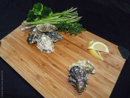 Salish Oysters - Small Singles (Priced Per Dozen) Shellfish