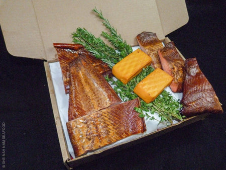 Smoked Fish Variety & Cheese Box