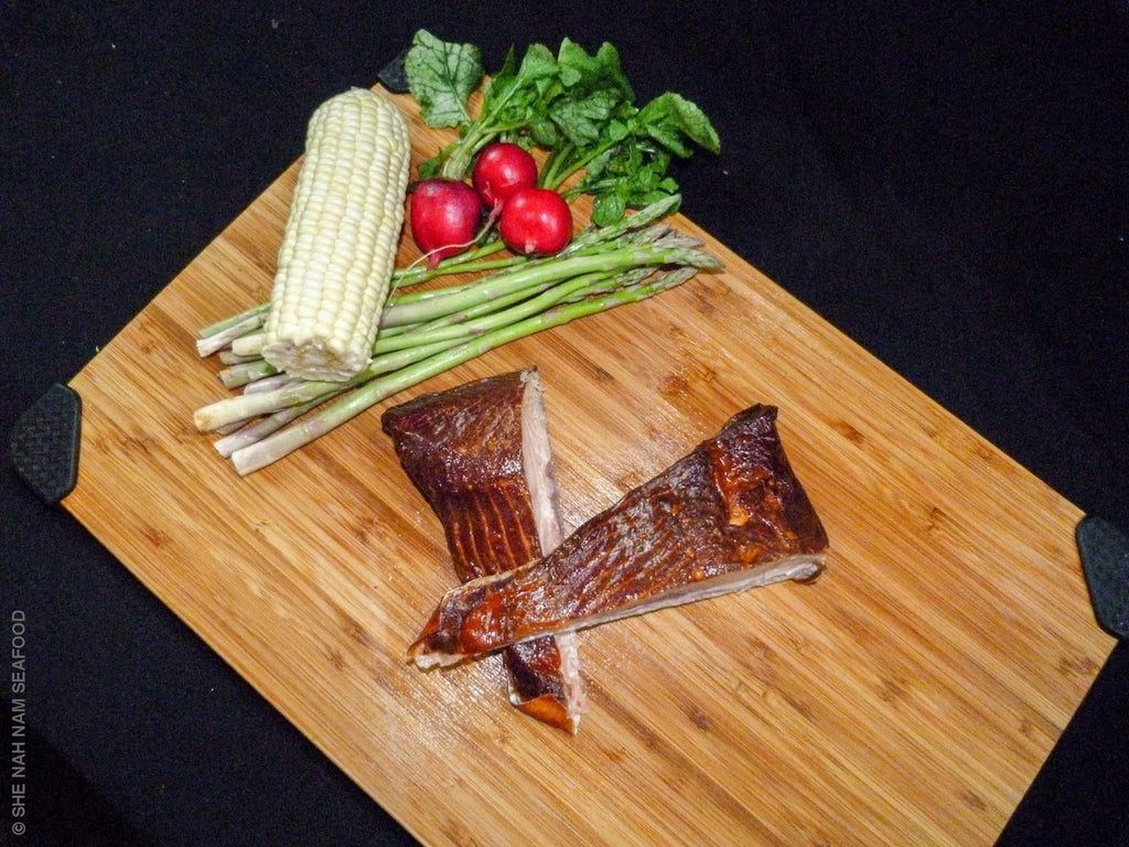 Smoked Native Caught Steelhead Salmon And Seafood