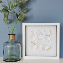 Butterflies With Gold Leaf Papercut