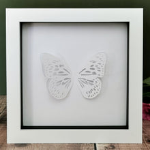 Blue Tiger Butterfly Papercut
