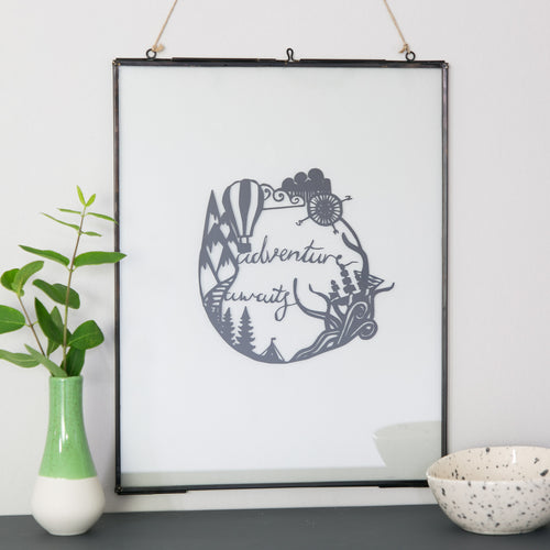 Adventure Awaits Papercut
