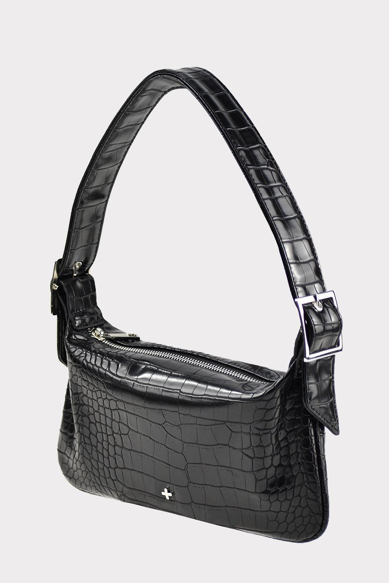 Salem Bag - Black Croc