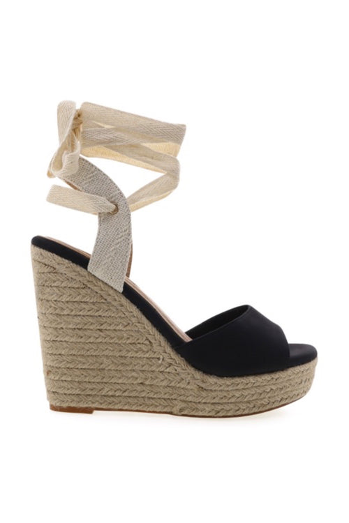 Elina Wedge - Black