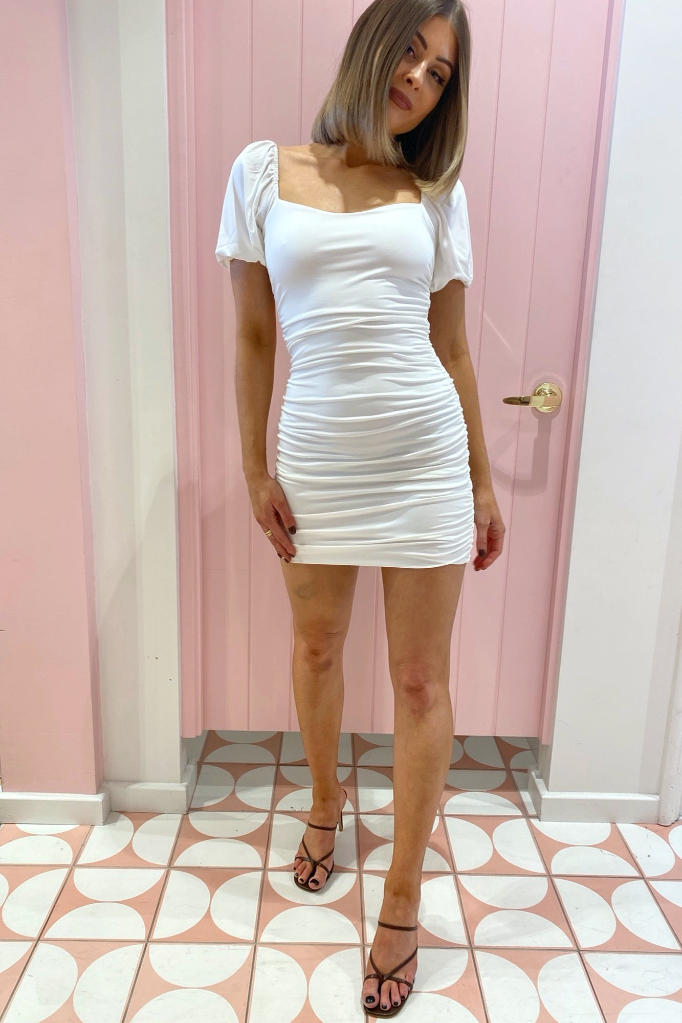 Amie Dress - White