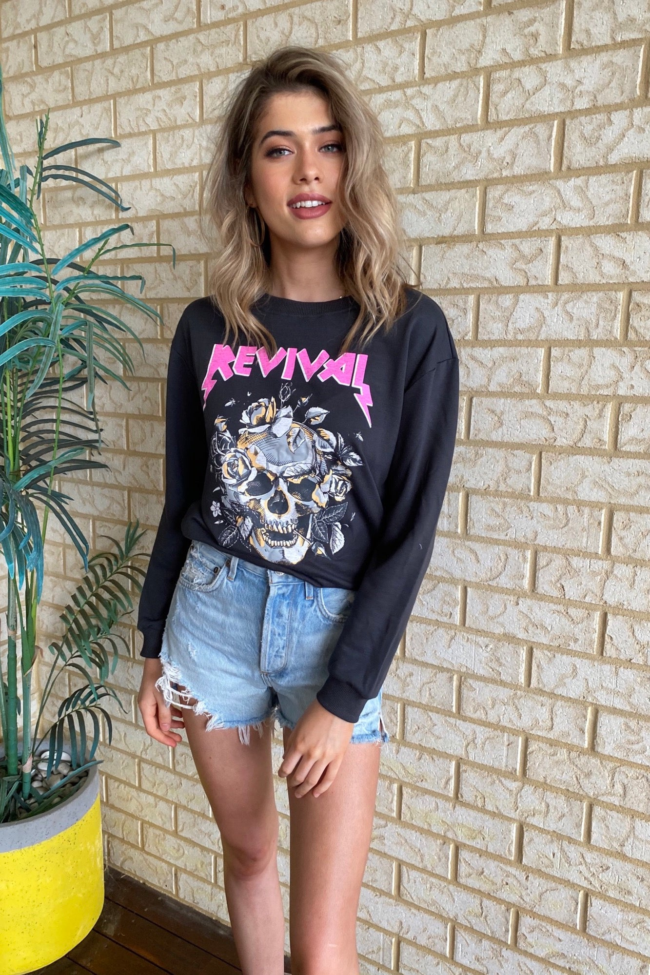 Revival Sweat - Vintage Black