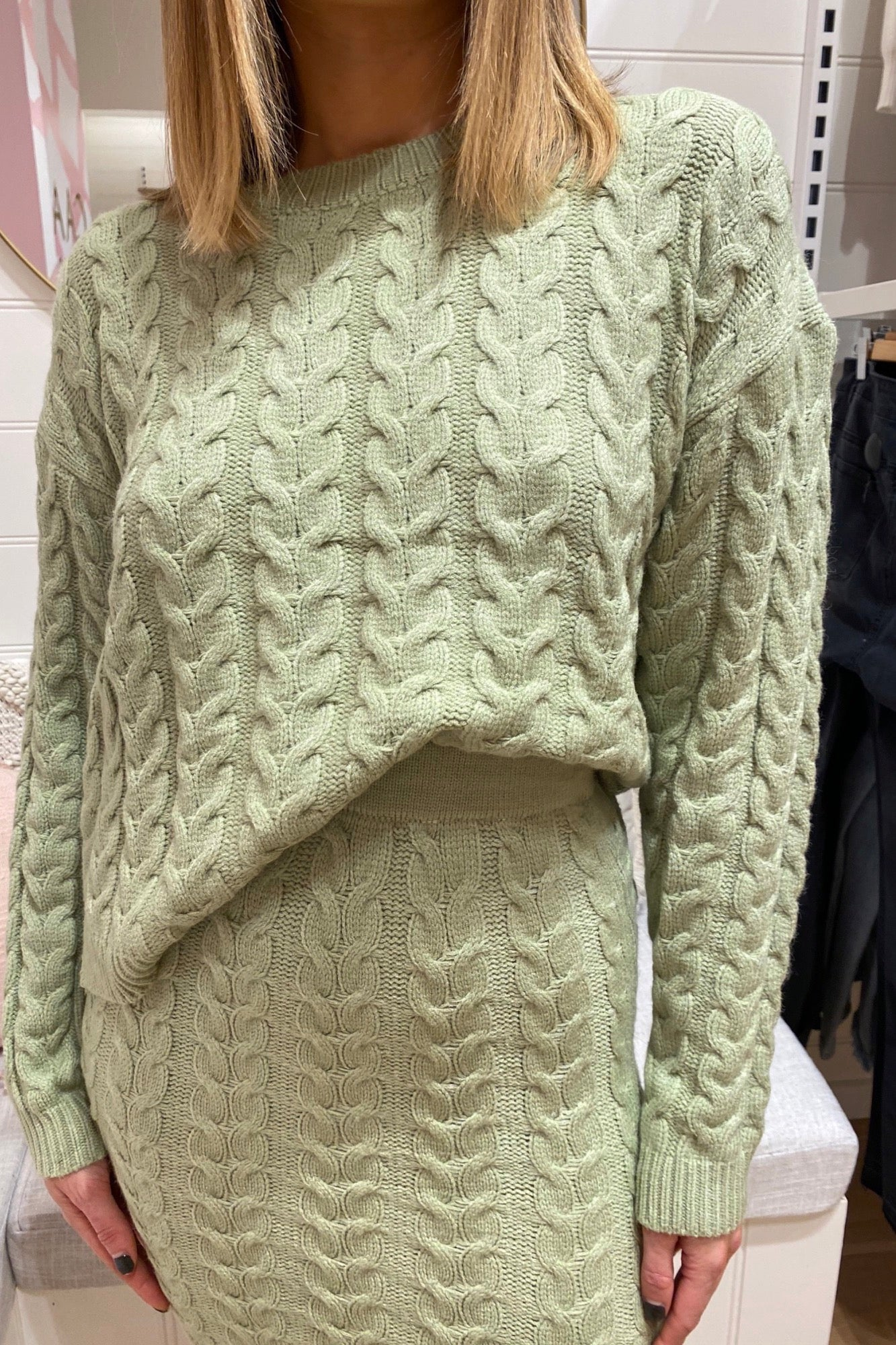 Saffia Sweater - Green