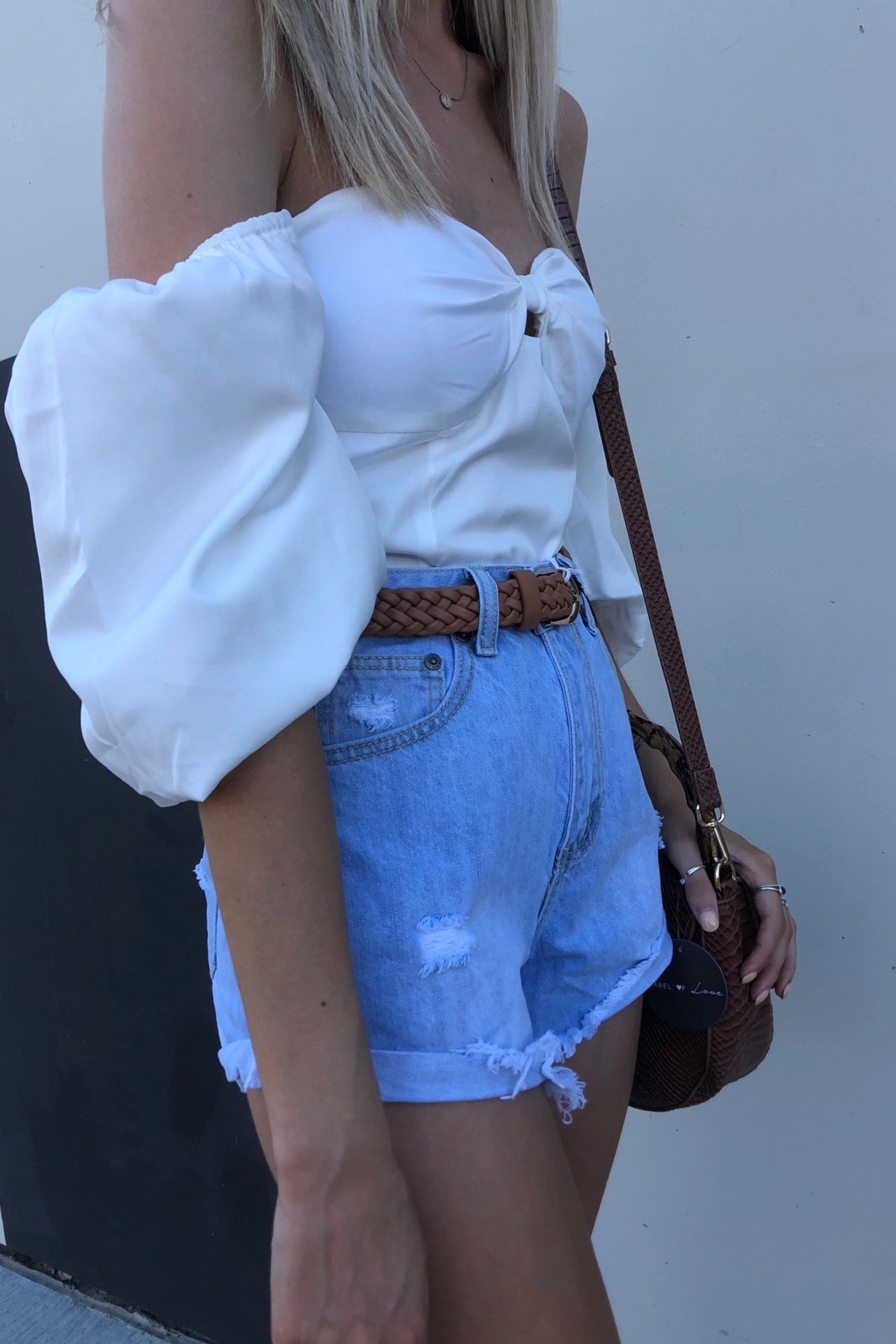 Dainty Top - White