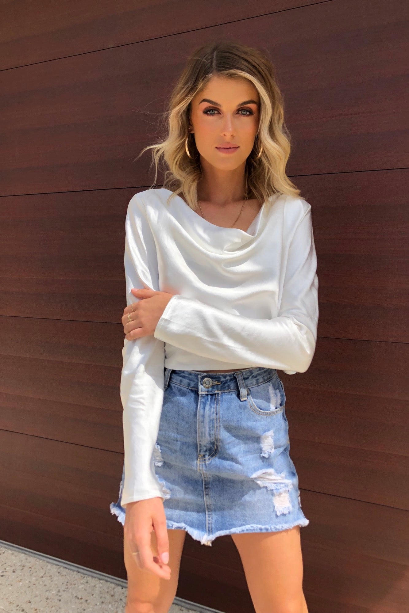 Chic Top - White