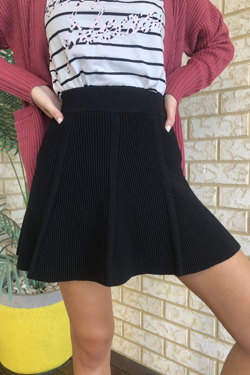 Centre Stage Skirt - Black
