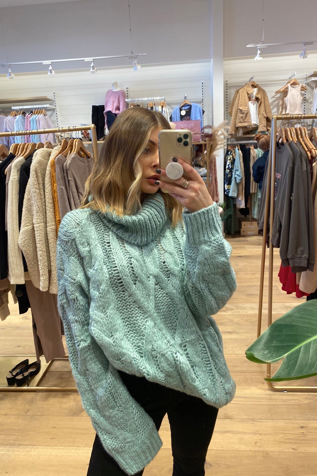 Ren Sweater - Mint