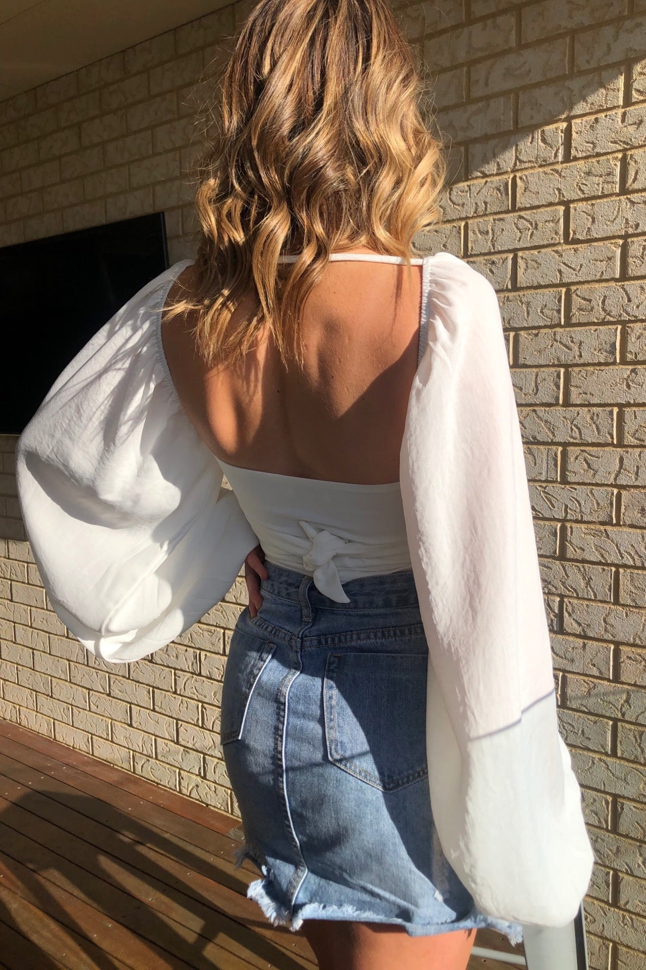 Siesta Top - White