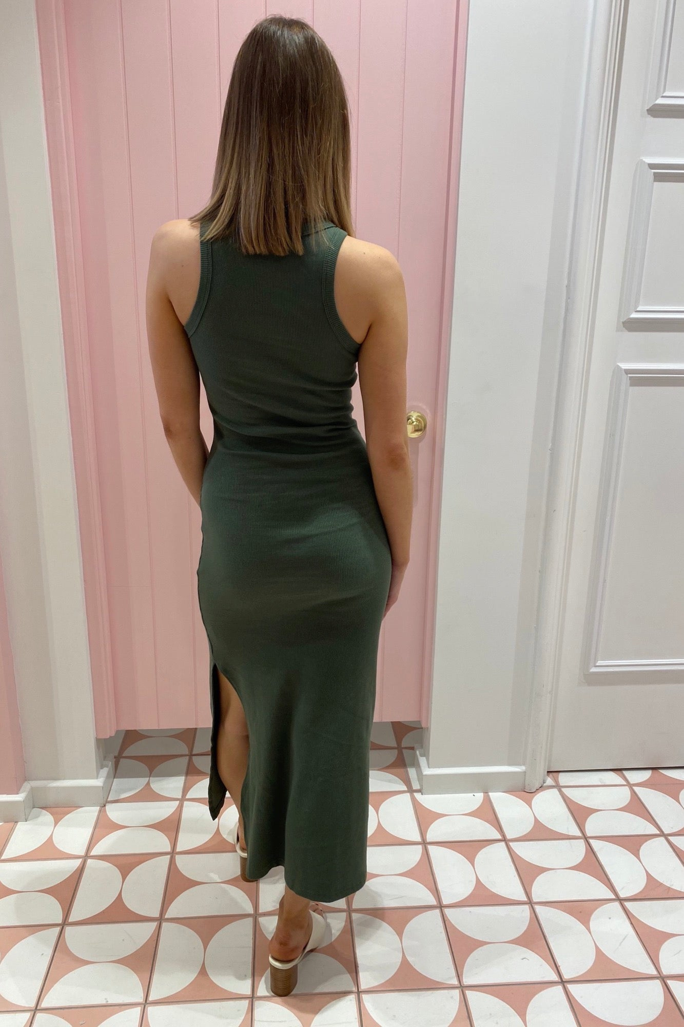 Megan Dress - Green