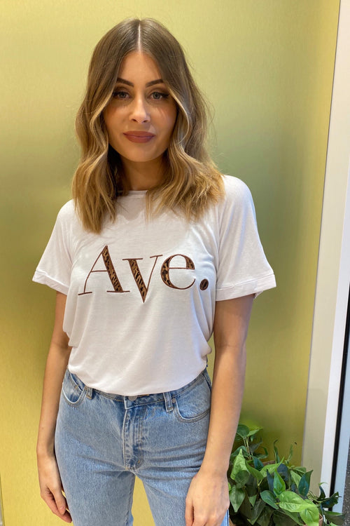 Ave Tee - Leopard